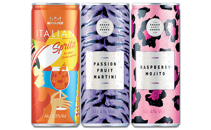 GLOBAL BRANDS SHAKES-UP SUPERMARKET RTDS WITH NEW CANNED COCKTAILS